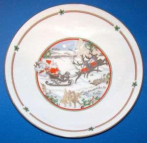 Royal Doulton Sleighride Bowl Bone China Xmas 90 #5166