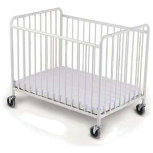 StowAway Metal Folding Crib Baby