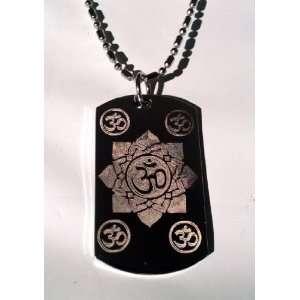 Hindu Om Aum Lotus Flower Meditation Religion Religious
