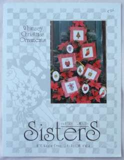 Sisters & Best Friends WHIMSEY CHRISTMAS ORNAMENTS NEW