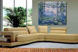 Claude Monet Repro Oil Painting Art Canvas Nympheas