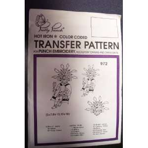 Hot Iron Transfer Pattern #972 Indian Native Costume (For