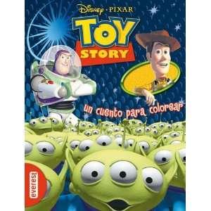 Toy Story. Un cuento para colorear. (9788444160399) Walt