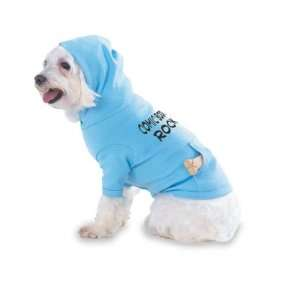 Comic Books Rock Hooded (Hoody) T Shirt with pocket for your Dog or