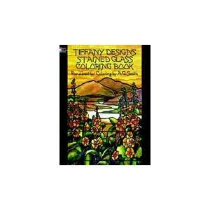 Dover Stained Glass Coloring Book Tiffany Arts, Crafts & Sewing