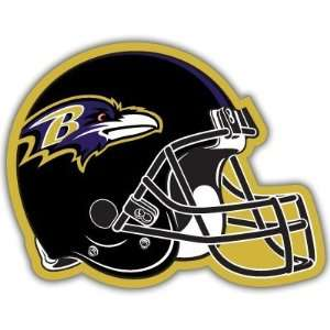 Baltimore Ravens NFL Football car bumper sticker 5x 4