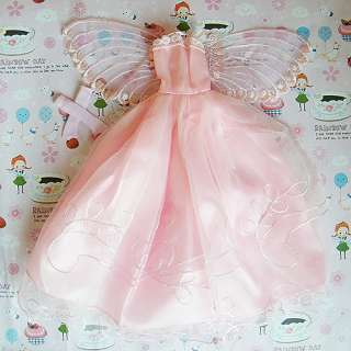 Fashion Princess Wedding Clothes Party Dresses Gown Outfit for Barbie