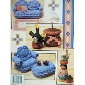 Santa Fe Living   Annies Fashion Doll Home Decor Crochet