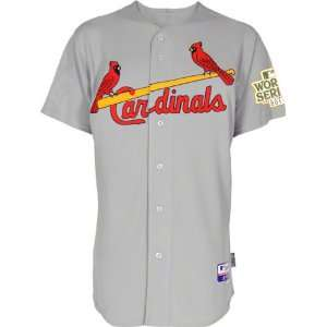 St. Louis Cardinals Jersey Big & Tall Road Grey Authentic