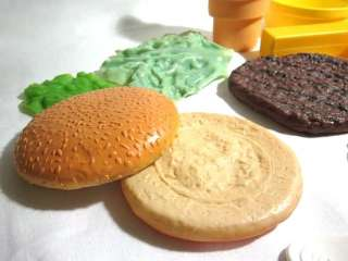 Food LOT Hamburger Fisher Price Ice Cream Pretend Kitchen Corn