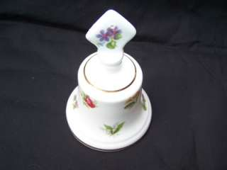 Countess Floral Fine Bone China Bell England ~NICE~