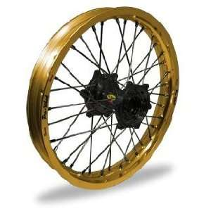 Wheel   Gold Rim/Black Hub , Color Gold 24 31024 HUB/RIM Automotive