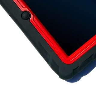 Gumdrop DROP TECH SERIES iPad 2 Case BLACK RED LATEST VERSION V2