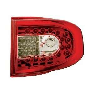TOYOTA FJ CRUISER 07 08 IPCW RUBY RED LED TAIL LIGHTS