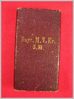 WWI German cross for military service in originall box