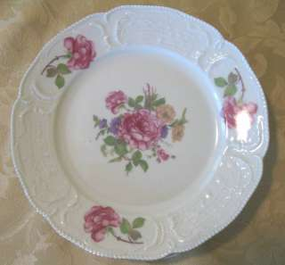 ROSENTHAL Sanssouci Selb Germany BREAD Plate Pink Rose