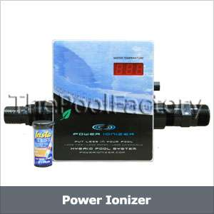 Solar powered copper swimming pool ionizer water purifier - Swimming pool ionizer ...