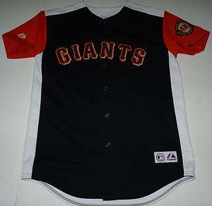 MAJESTIC SAN FRANCISCO GIANTS STICHED MLB BASEBALL YOUTH JERSEY YOUTH