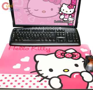 Sanrio Hello Kitty Mouse Pad Large Desk Top Mat Work Pad 21