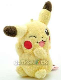 Cute Pokemon BW 5 PIKACHU Soft Plush Doll/PC1048