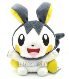 New Cute Pokemon Generation BW Emolga Emonga Soft Plush Toy Doll