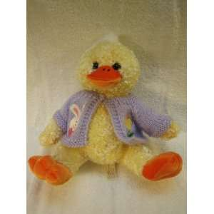 Plush Duck with Easter Sweater Toy (Dan Dee Collectors