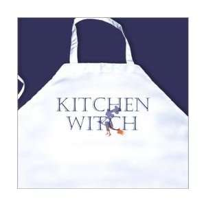 Kitchen Witch Printed Apron Home & Kitchen