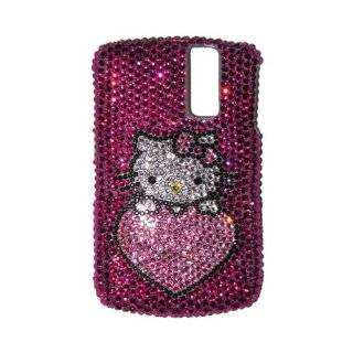 Hello Kitty Heart Swarovski BlackBerry Curve 8300 Bling