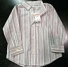 Gymboree Toddler Boy Striped Dress Shirt Size 2T