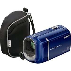 Sony DCRSX41/LBDL Blue Dual Flash Camcorder Kit with Bag