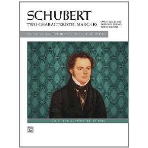 Schubert    Two Characteristic Marches, Op. 121, D. 886 (Alfred