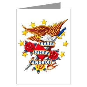 Greeting Card Bald Eagle Death Before Dishonor: Everything Else