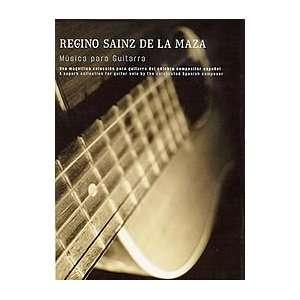 Regino Sainz De La Maza Musica para Guitarra Book Sports