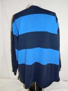 Mens Ralph Lauren Polo Rugby Shirt Size XXL Long Sleeve Navy Blue