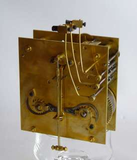 Beautiful, German wall clock quarter chime at 1920