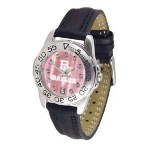 Baylor University Bears Ladies Leather Band Sports Watch
