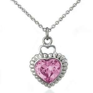 Shaped Cubic Zirconia 18 Inches Necklace West Coast Jewelry Jewelry