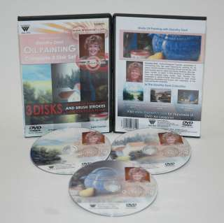 Dorothy Dent ~ Complete Dvd Set ~ Oil Painting~New