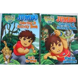 & Activity Books (Lets Go Wild & What an Adventure! Toys & Games