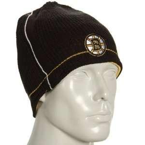 Reebok Boston Bruins Black Gold Official Team Reversible Beanie
