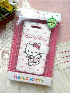 Genuine Sanrio Hello Kitty iPhone 4 Diary Case   02
