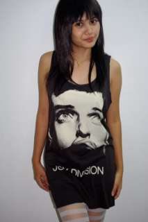 Joy Division Ian Curtis Goth Post Punk Tank T Shirt S