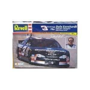 Revell Mongram Dale Earnhardt Nascar Champion 2000 Monte Carlo Kit# 85
