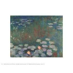 Claude Monet Water Lilies 14x11 Poster Print