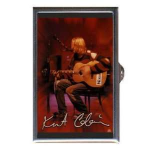 KURT COBAIN NIRVANA PHOTO WITH GUITAR Coin, Mint or Pill