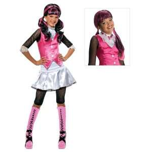 Monster High Draculaura Child Costume with Wig   Small