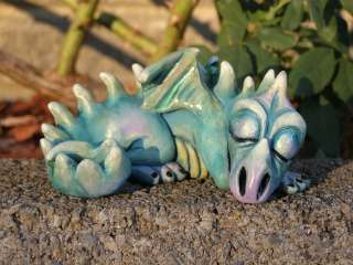 OOAK BABY DRAGON Sculpture Fantasy Fairy Faerie by Neece DRAGON