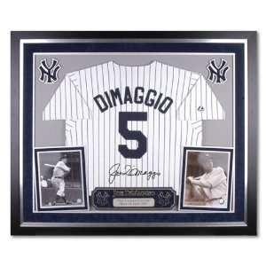 Joe DiMaggio New York Yankees Deluxe Framed Majestic