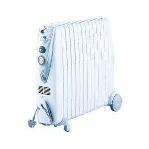 DeLonghi Rapido Oil Filled Radiator 3Kw White GO11230RTW