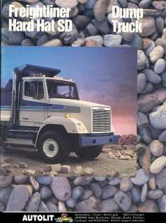 1986 Freightliner Hard Hat SD Dump Truck Brochure